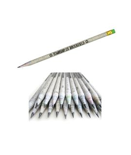 Rolled Newspaper Pencils