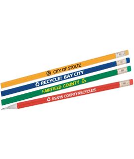 Newspaper Colored Pencils