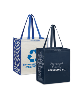 3 Bottle Recycled Shoppers