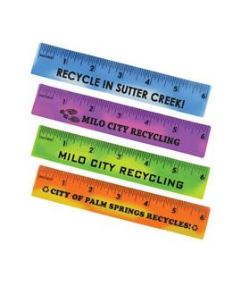 "Flexible Mood 6"" Rulers"