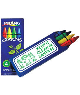Soybean Crayons - 4 Pack