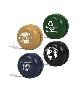 Recycled Yo-Yos