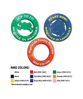 Recycling Flying Rings