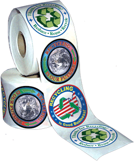 3-On-A-Roll Stickers